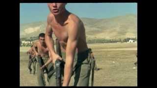 Ευδοκία (1971) , ασκήσεις λογχομαχίας, Αλέξης Δαμιανός