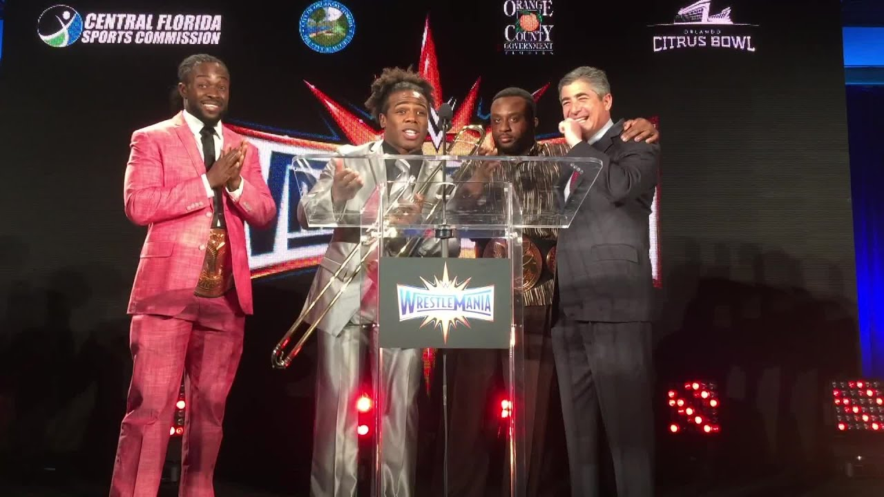 Download The New Day end the WrestleMania press event as only they can