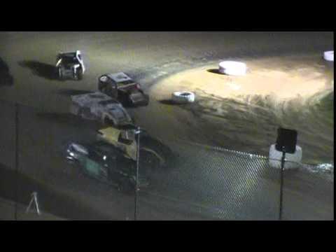 Crowley's Ridge Raceway USCS Modified Race 7/9/15 #21 Chris Sims Feature Race