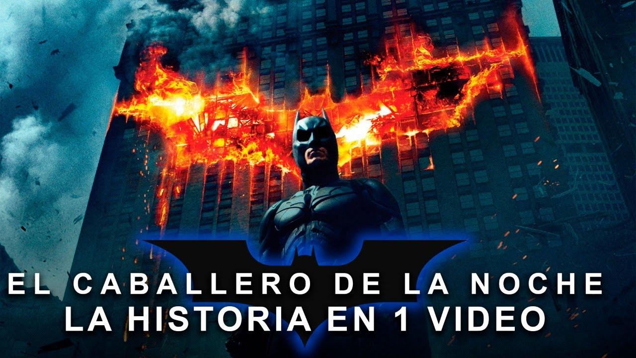 Batman El Caballero de la Noche : La Historia en 1 Video
