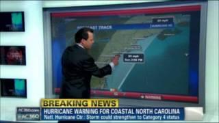 Anderson Cooper - Hurricane Irene (0-8-24-11)