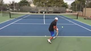 Tennis Ball Machine Training and Drills - Spinfire Pro 2