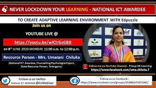 Edpuzzle | Creative Adaptive Learning Environment | Day 03 | National ICT Webinars