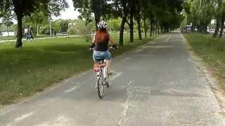 Обучение на велосипеде - взрослые 2