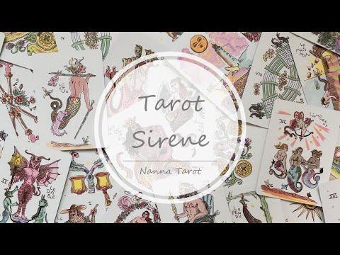 開箱  美人魚馬賽塔羅牌 • Tarot Sirene // Nanna Tarot