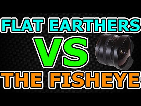 Flat Earthers: Fisheyes Make the Earth Round! (Bad Arguments Debunked #1) thumbnail