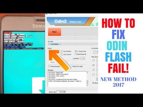 New Method | How to Fix sw rev check fail fused 2 binary 1 | Odin flash fail | Samsung 2017 |by Z3X
