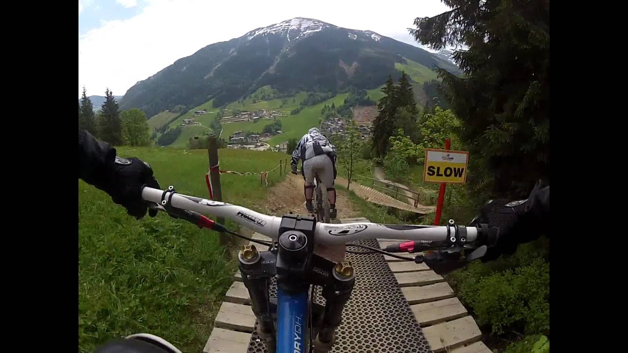 Bike Park Saalbach Hinterglemm Jehlebikes Rider Blueline Youtube