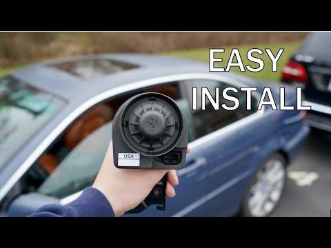 BMW E46 Alarm INSTALL