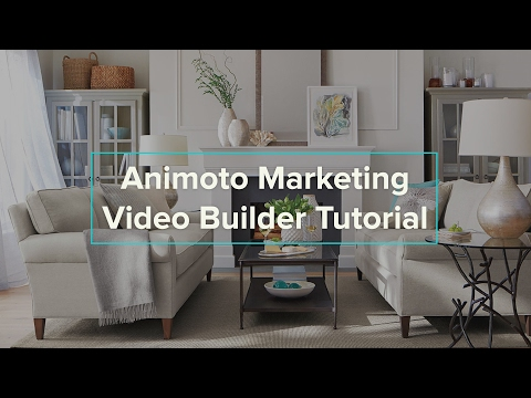 Animoto Marketing Video Builder Tutorial