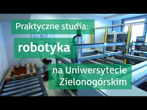 Studiuj robotykę na Uniwersytecie Zielonogórskim