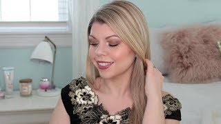 CHRISTMAS PARTY GLAM ORGANIC MAKEUP TUTORIAL + OUTFIT!