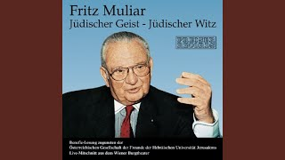 Anekdote Karl Farkas/Anekdote Gerhard Bronner/Fritz Muliars Selbsterlebtes