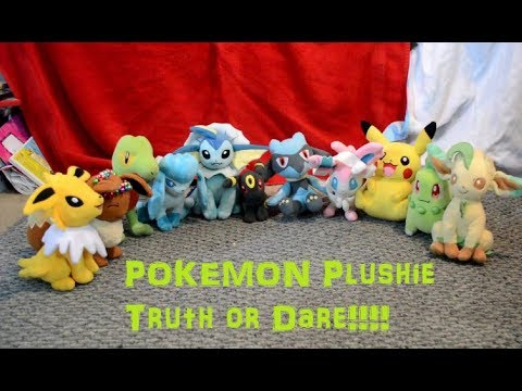 Pokemon Plushie Truth or Dare