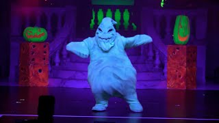 Repeat youtube video Full Oogie Boogie's Freaky Funhouse Show in Villains Unleashed event at Walt Disney World