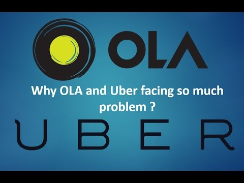 Thumbnail: Why Ola & Uber Facing Problems in India | Drivers Strike Explained