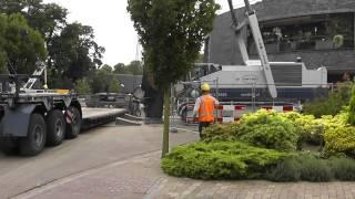 Bodemsanering Laantje Wijchen deel 5 Van 't HEK zwaar transport