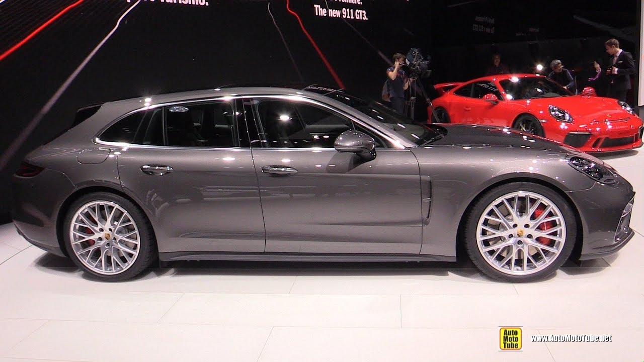 Porsche panamera sport turismo interior