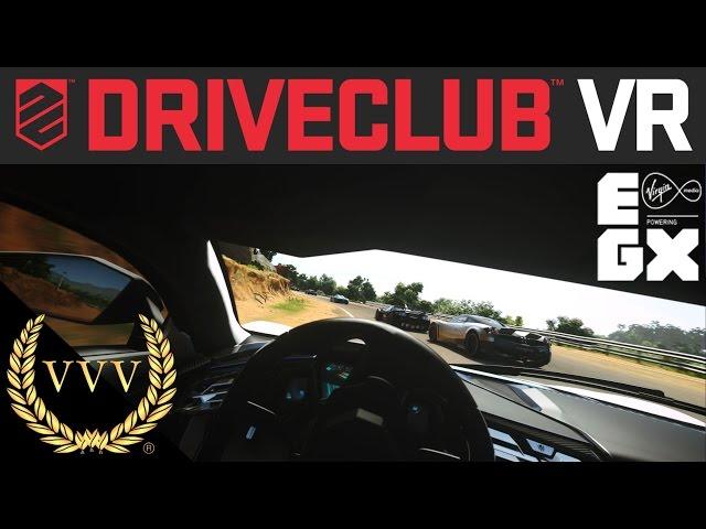 Driveclub VR Demo - EGX 2016