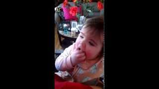 Baby Tastes Blintz For The First Time