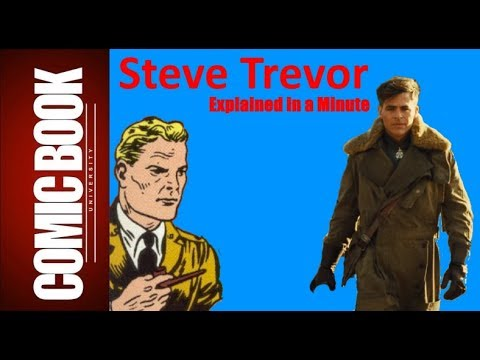 Steve Trevor (Explained in a Minute) | COMIC BOOK UNIVERSITY