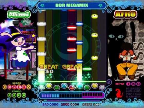 pop'n music 10 - DDR MEGAMIX (EX) Autoplay