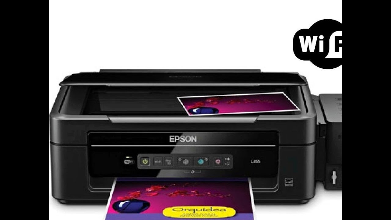 Setting WiFi Printer - EPSON L355 WiFi COMPLETE SETUP GUIDE ON WINDOW 10