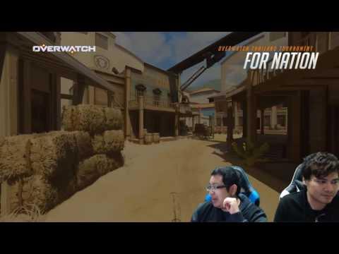 Overwatch Thailand Tournament: For Nation | Day 1 | Fireball -vs- XunwuTeamwork