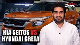 Kia Seltos vs Hyundai Creta: Differences Explained