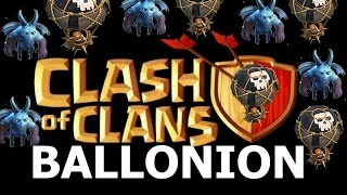 [Clash of Clans] 2 Attacks 1.2 Million Loot (Ballonion) in Clash of Clans