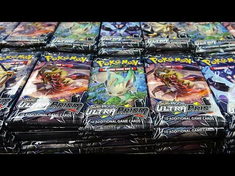 Opening 1,000 Pokemon Booster Packs of Ultra Prism!