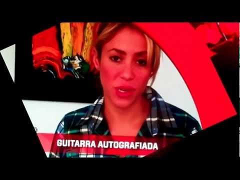 Radio Disney Vivo en Paraguay - Saludo de Shakira