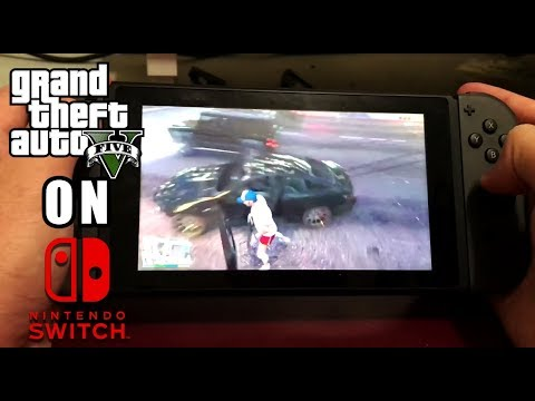 Play Gta 5 On Nintendo Switch In Home Switching Awesome Homebrew Streaming App Youtube
