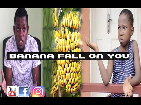 BANANA FALL ON YOU (Mark Angel Comedy ) ( Episode 119)