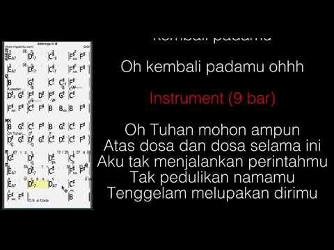 Akhirnya (Gigi) Chords At MyPartitur Lyrics