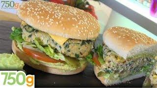 Recette de Burger Végétarien - 750g