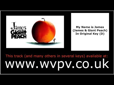 My Name is James by Randy Newman (Piano Backing Track) (Karaoke) (Singing Study)