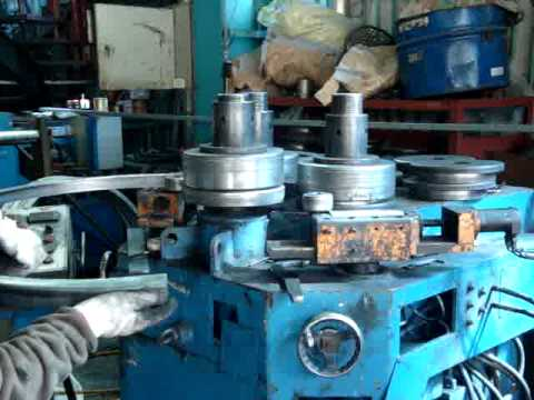Hydraulic Section Bending Rolls, LH-3RS, ANGLE-IN
