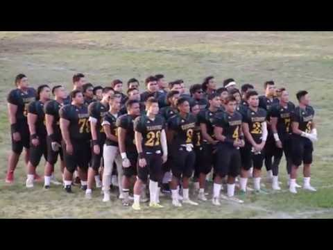 OIA Football - Kaimuki High School Bulldogs Alma Mater 9-23-16 [click2ED Videos]