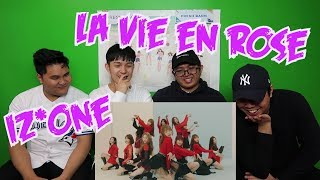 Video IZ*ONE - LA VIE EN ROSE M/V REACTION (FUNNY FANBOYS) download MP3, 3GP, MP4, WEBM, AVI, FLV November 2018