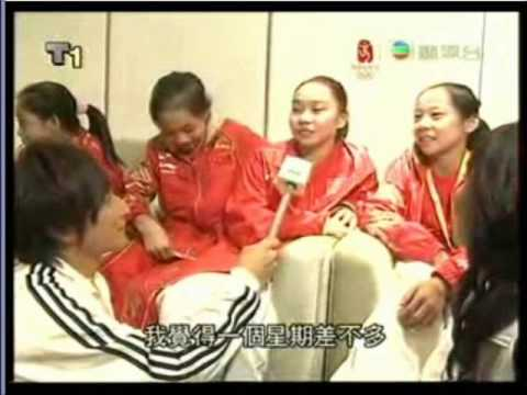 Womens Chinese Gymnast Interview_8.23.08