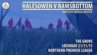 Halesowen v Ramsbottom (Match Highlights)