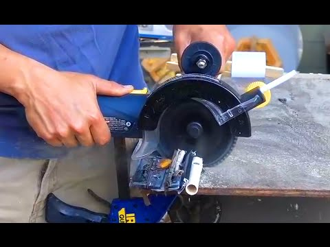 5 Quot Double Cut Saw Harbor Freight Youtube