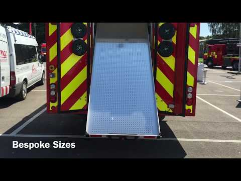 CV Rollers Ltd Emergency Vehicle Drawer Systems - Plastic Drawer