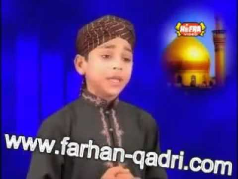 Ali Da Malang   Farhan Ali Qadri Naats   Video Dailymotion