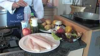 Koch ABC Pangasiusfilet mit Kartoffelsalat
