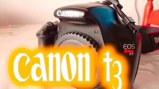 Canon T3 (1100D) Review Portugues