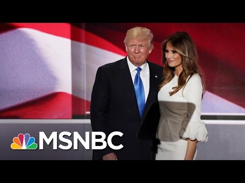 Donald Trump Rejects Speechwriter's Resignation  Andrea Mitchell  MSNBC