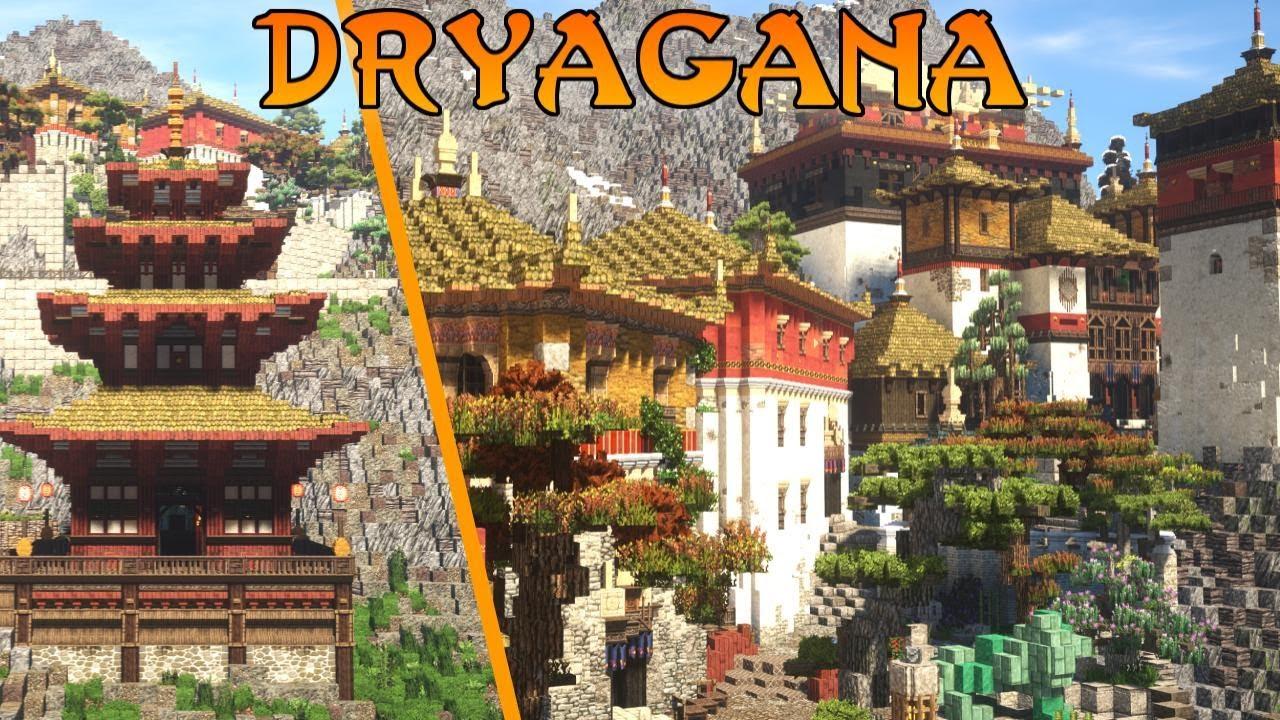 Japanese Minecraft Pagoda - Dryagana Palace