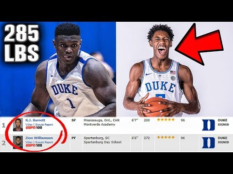 Top 3 Picks In The 2019 NBA Draft On The Same Team? Greatest Recruiting Class Ever?